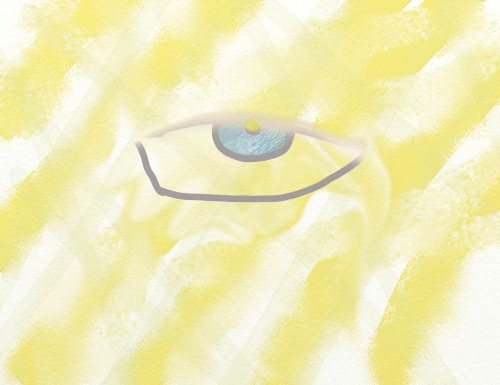 Ojos que parecen morir