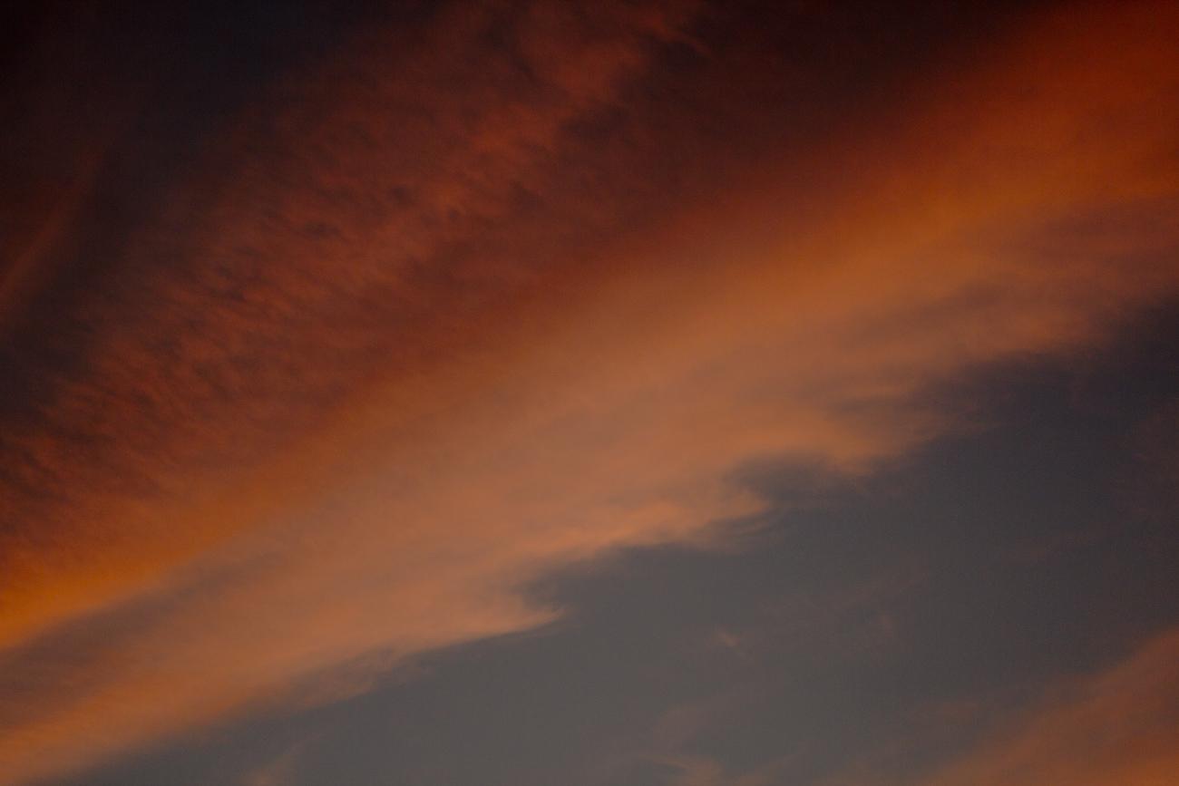 Walking Barefoot as Clouds Sing