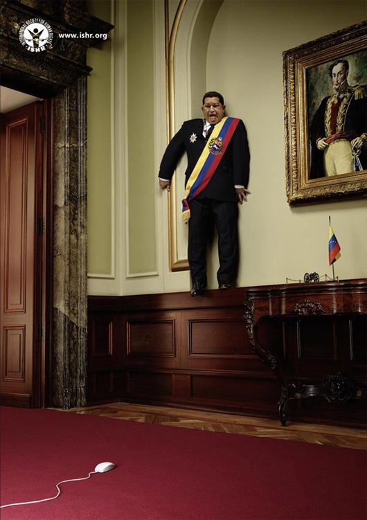 El miedo de Chavez es el Internet